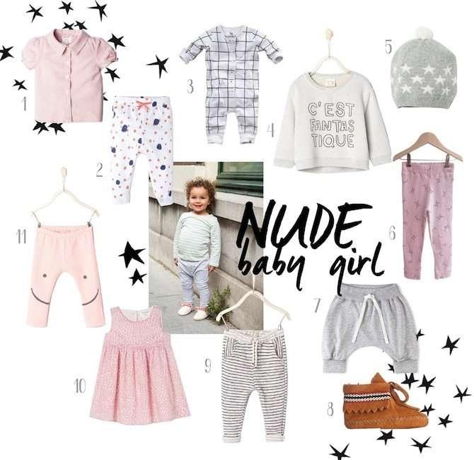 SHOPPING  | NUDE BABY GIRL