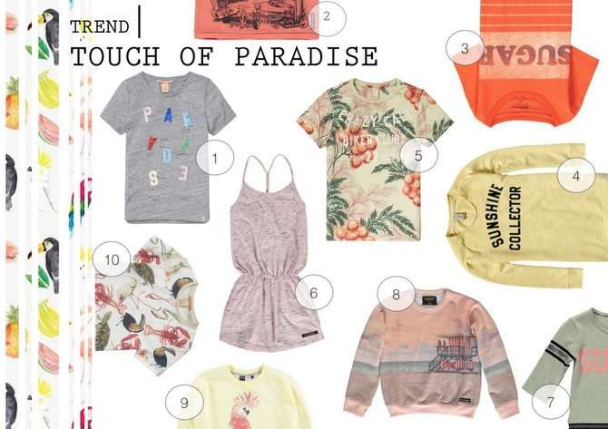 TREND | TOUCH OF PARADISE