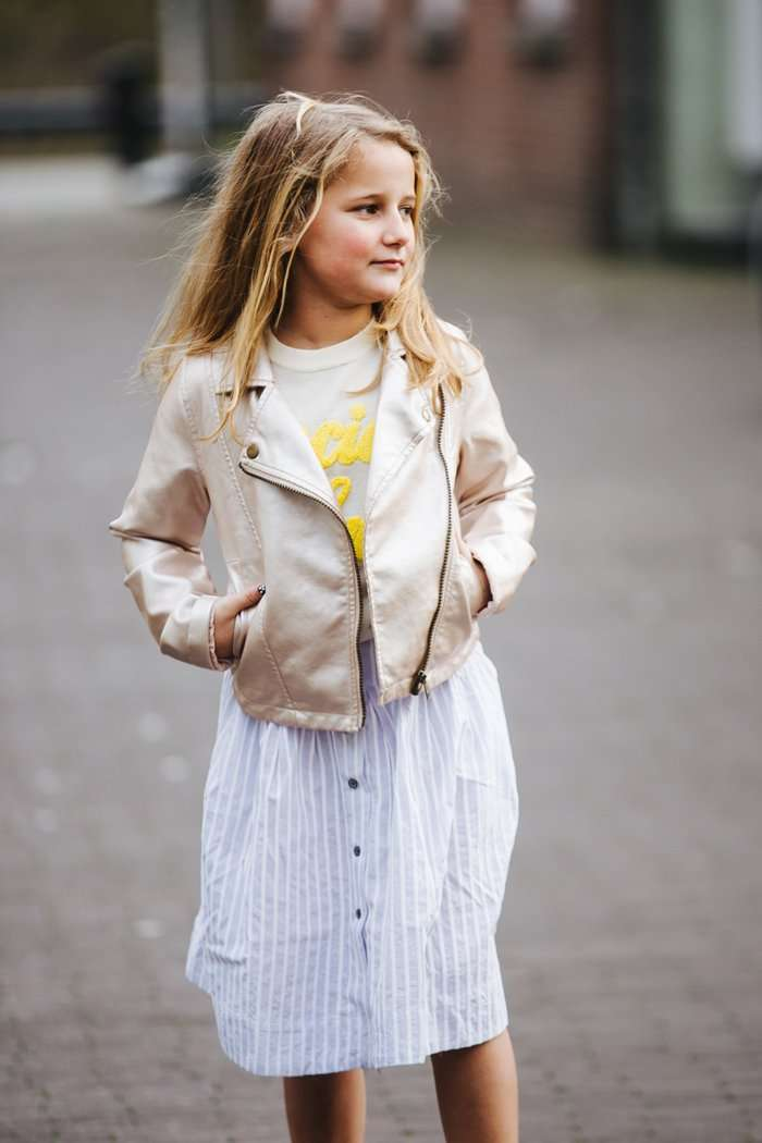 NAME IT | HET TRENDY BIKERJACK VAN MAURA