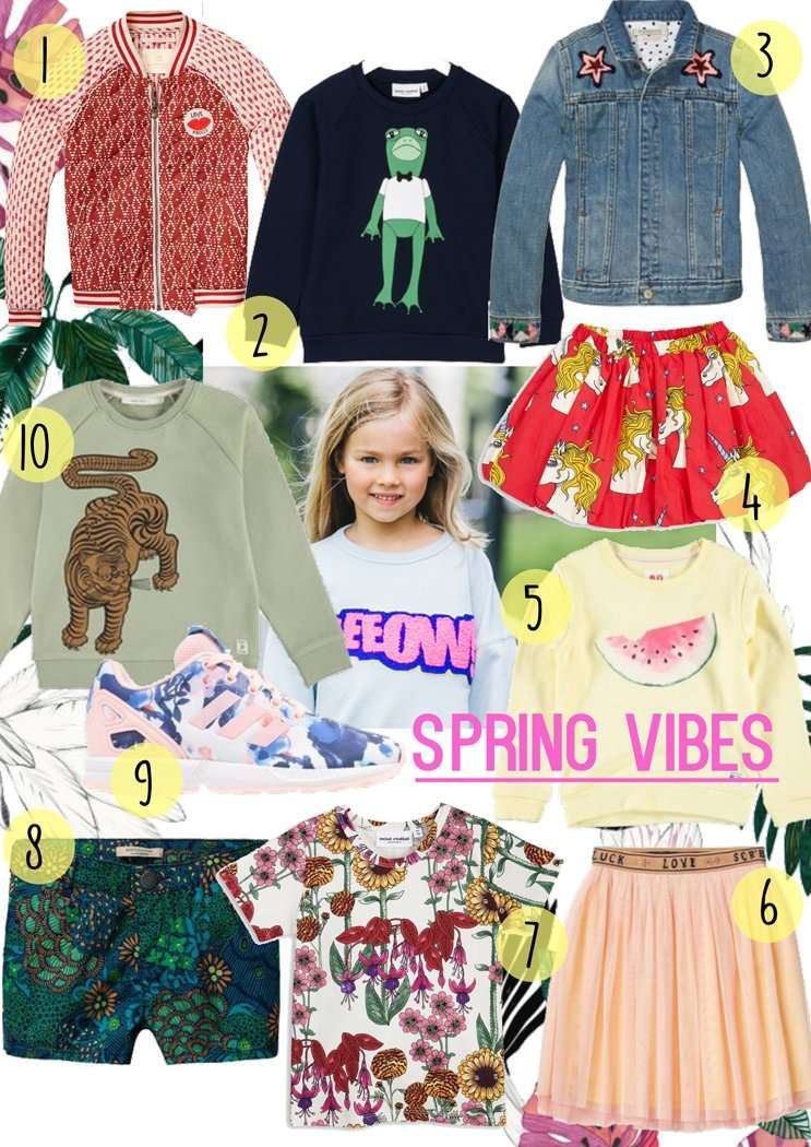 10X SPRING VIBES MEISJES SHOPPING