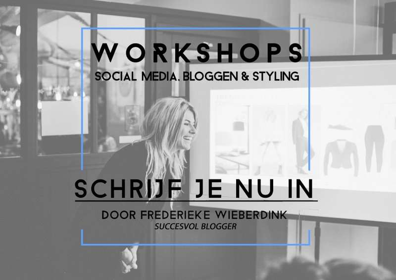 WORKSHOP CONCEPT & STYLING EN SOCIAL MEDIA