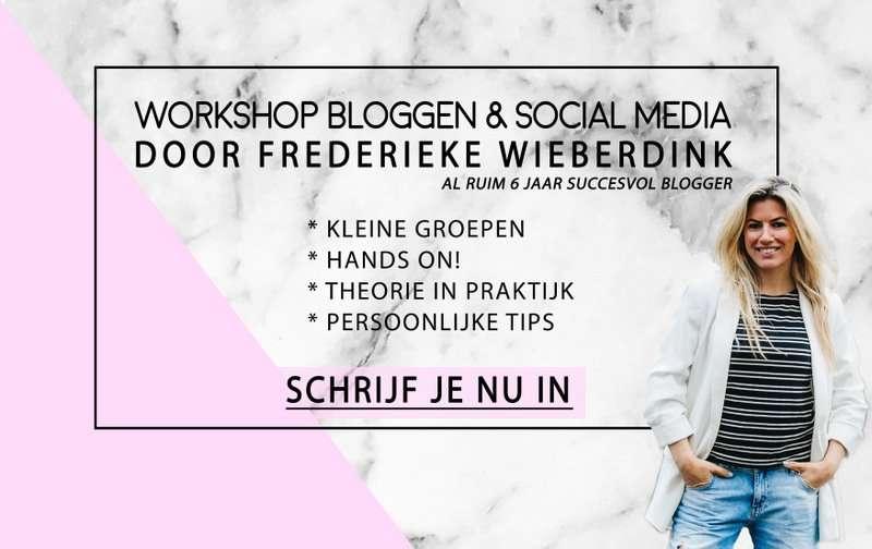 WORKSHOP 1 | BLOGGEN & SOCIAL MEDIA
