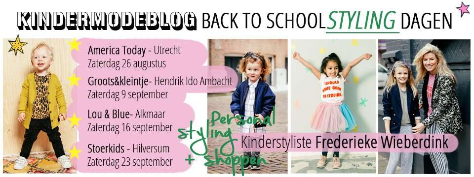BACK TO SCHOOL TOUR STYLING DAGEN 2017