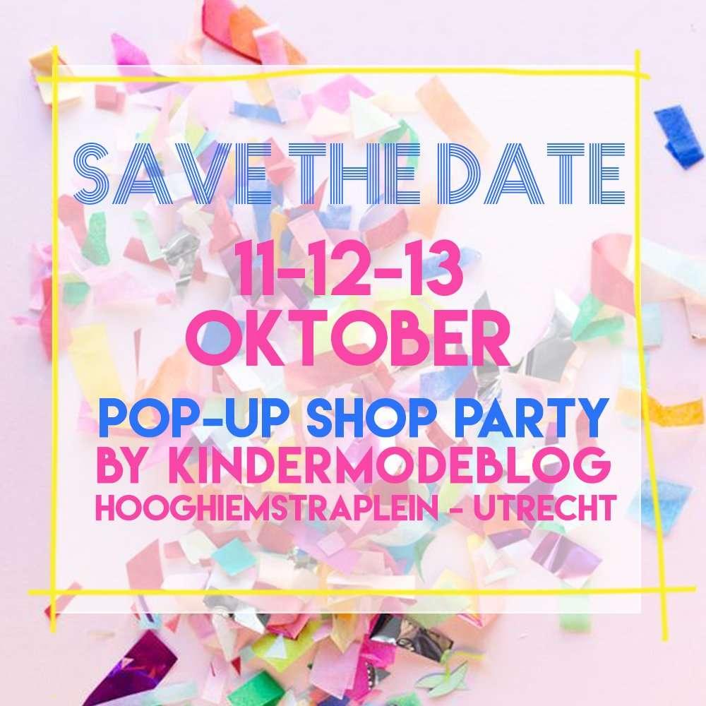 POP-UP SHOP PARTY BY KINDERMODEBLOG