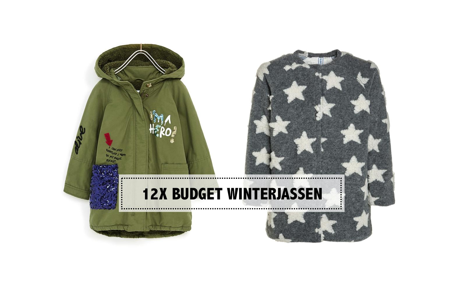 12X BUDGET WINTERJASSEN ONDER €50,-