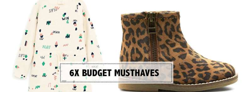 6X BUDGET MUSTHAVES