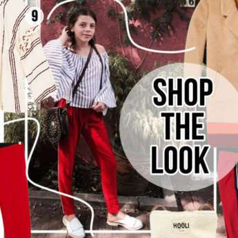 SHOP THE LOOK VAN JUUL: TOUCH OF RED