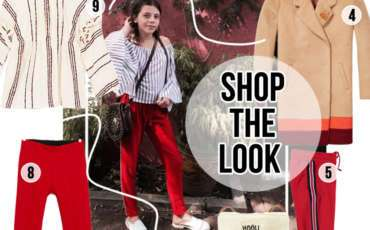 SHOP THE LOOK VAN JUUL: TOUCH OF RED