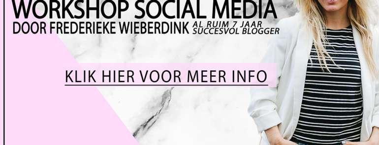 WORKSHOP SOCIAL MEDIA UTRECHT