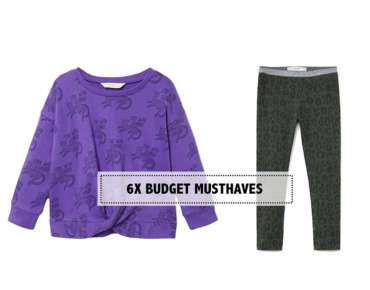 6X EXTRA BUDGET KINDERKLEDING MUSTHAVES