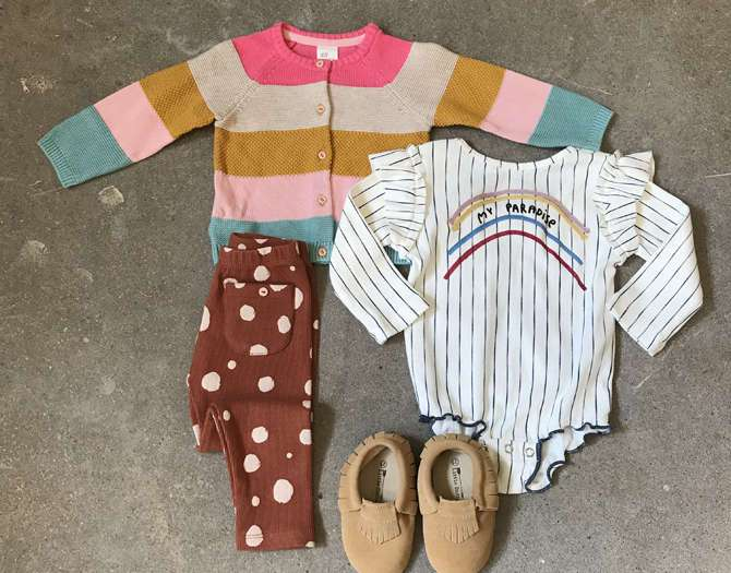 SHOP THE LOOK: SWEET BABY GIRL