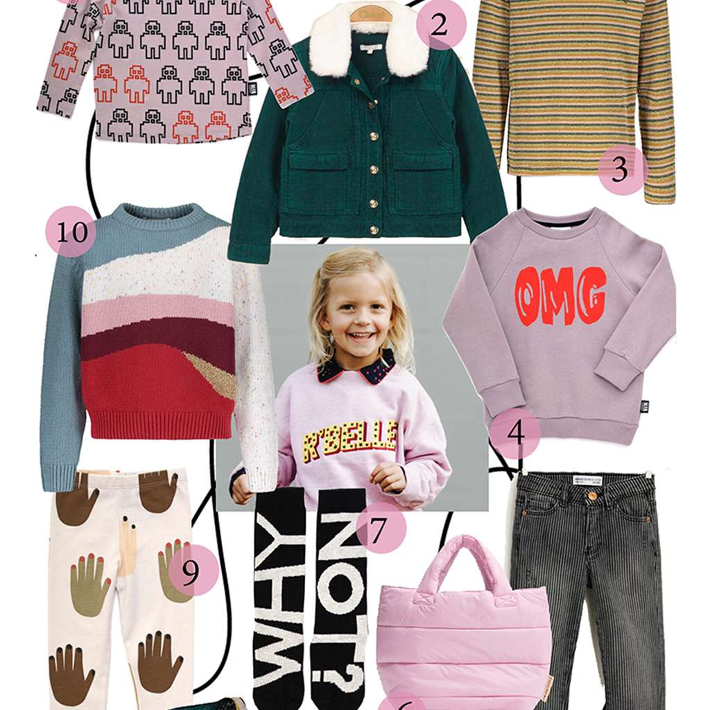 10X COLORFUL GIRLS SHOPPING