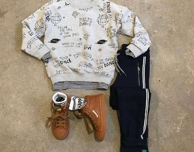 SHOP THE LOOK: SPORTY BOY