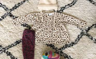 BABY OUTFIT | LEOPARD + SNEAKERS