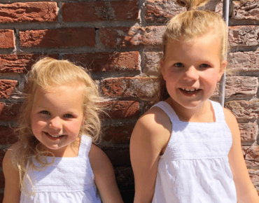DE TWINNING SUMMER OUTFIT VAN JULIE & PHILEINE