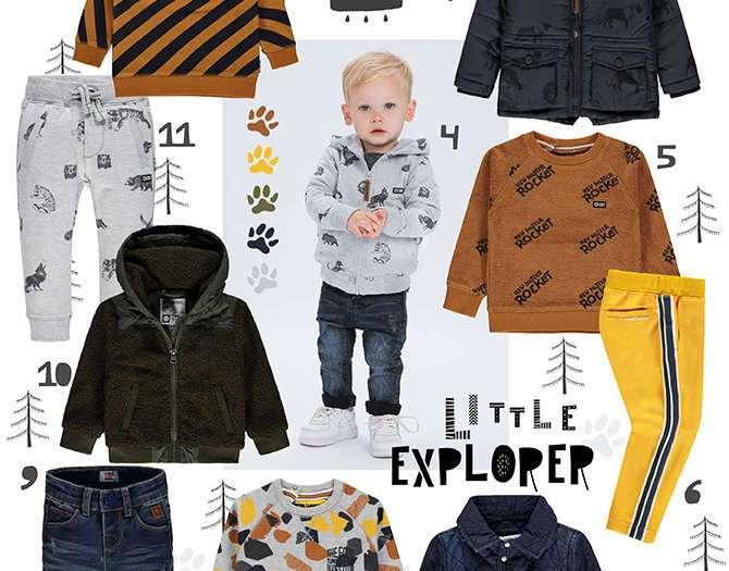 SHOPPING BOYS LITTLE EXPLORER