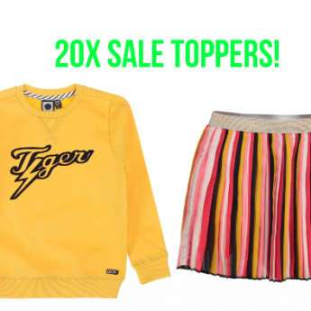 20X SALE TOPPERS TUMBLE