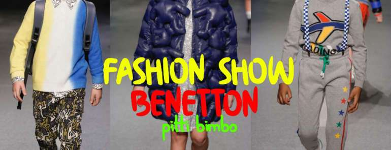 BENETTON FASHION KIDS SHOW PITTI BIMBO
