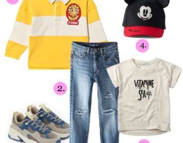 KIDSFASHION TREND LOOK