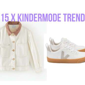 15 X KINDERMODE TREND OFF WHITE