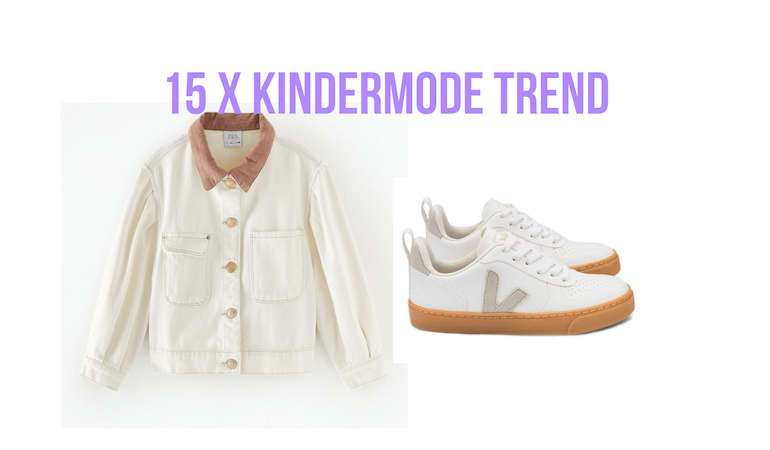 15 X KINDERMODE TREND OFF WHITE