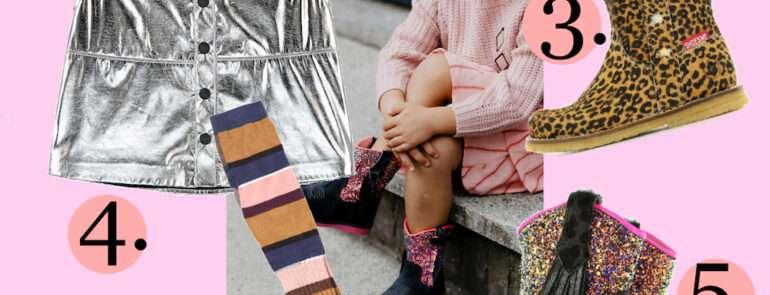 COOLE GIRLS OUTFIT MET LEUKE MEISJES LAARSJES
