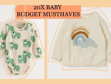 20 X BABY BUDGET MUSTHAVES