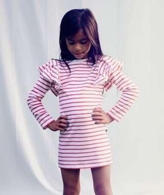 Kindermode trend: volle schouders