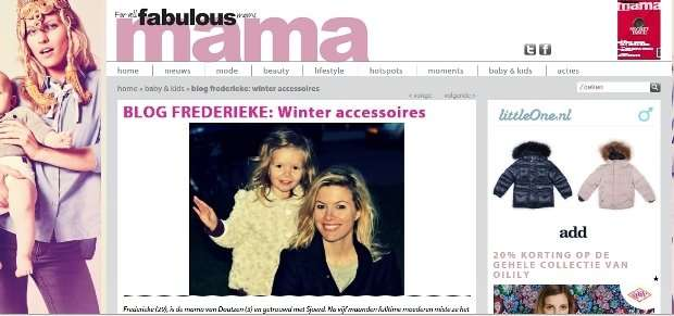 Blog Fabulous Mama: winter accessoires